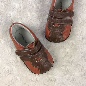 Pediped Baby Boy Shoes Sneakers Brown 0-6 Months